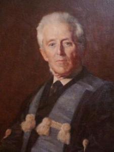 Dr. Joseph Bell, profesor de Arthur Conan Doyle. Describió el fenómeno y la parálisis que llevan su nombre